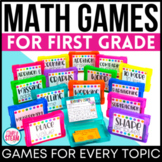 1st Grade Math Games BUNDLE | 1st Grade Math Centers