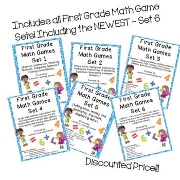 1st Grade Math Games - Ultimate Mega BUNDLE