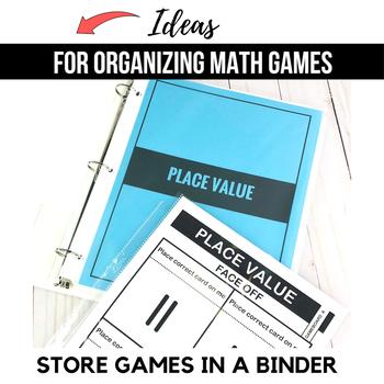 1st Grade Math Centers | 1st Grade Math Games BUNDLE - Ready Set Play