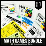 1st Grade Math Centers | 1st Grade Math Games BUNDLE - Rea