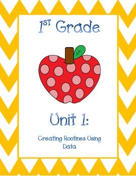 1st Grade Math Georgia Frameworks Unit COVERS