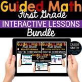 1st Grade Math Google Classroom Digital Bundle (For Distan