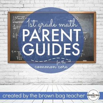 1st Grade Math Guides: Common Core Tools for Families