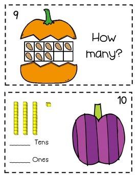 1st Grade Math Halloween SCOOT (printables)
