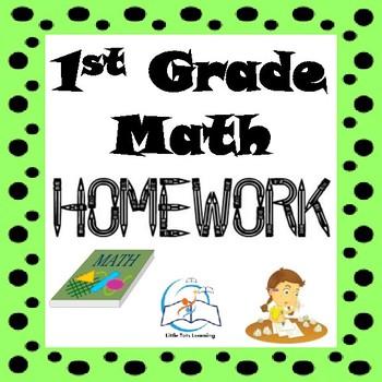 1st Grade Math Homework   1st Grade Morning Work   Entire Year!