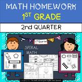 Math Homework for 1st Grade - 2nd Quarter