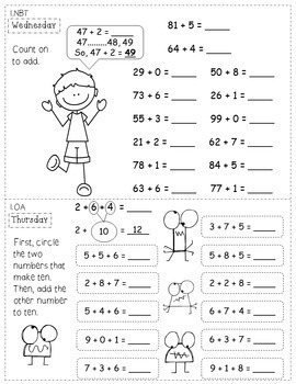 1st Grade Worksheets - Printable Worksheets Kids - JumpStart