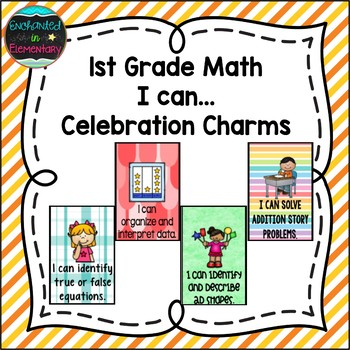 1st Grade Math I can...Brag Tags