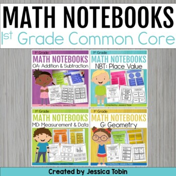 1st Grade Math Interactive Notebooks
