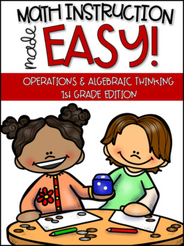 1st Grade Math Instruction- Activities for addition, subtraction, & intervention