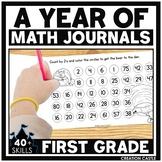 First Grade Math Journals Bundle