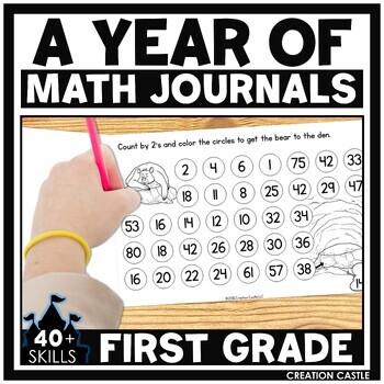 1st Grade Math Journals Bundle