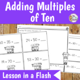 Math Lesson Plan Adding Multiples of Ten