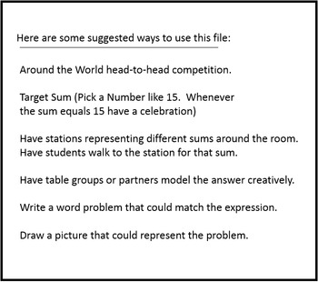 1st Grade Math:  Let's Have Sum Fun Adding!  1.OA.A.2