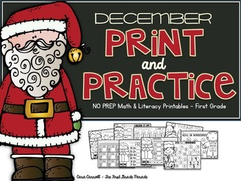 Christmas Literacy & Math