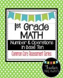 1st Grade Math Measurement Data 1.MD Geometry 1.G Common C