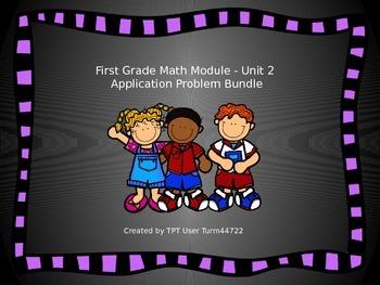 1st Grade Math Module Unit 2 Application Problem Bundle