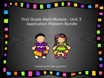 1st Grade Math Module Unit 3 Application Problem Bundle