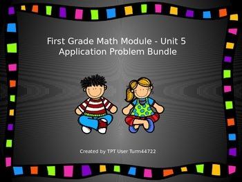 1st Grade Math Module Unit 5 Application Problem Bundle