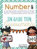 1st Grade Math NBT Assessments