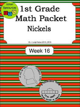 Nickels Math Packet - Week 16