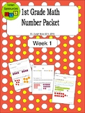 Counting Numbers Packet - Week 1 - Fruit Theme