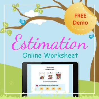 Online Interactive Worksheet - 1st Grade - Math (DEMO)