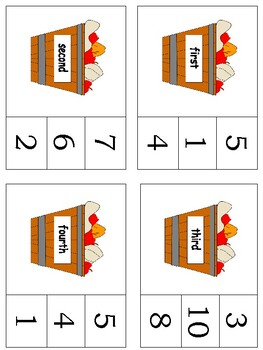 Ordinal Numbers & Tally Marks Packet - Week 6