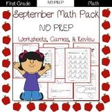 First Grade Math Pack {September}