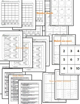 First Grade Math Pack {September}