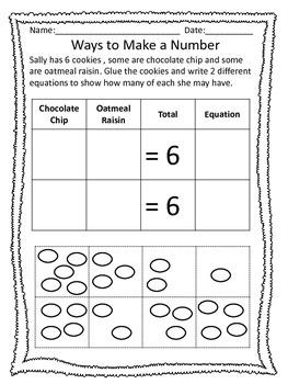 1st Grade Math Packet