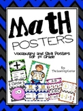 1st Grade Math Posters