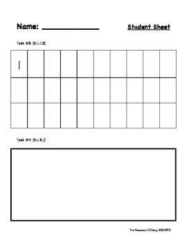First Grade: Math Pre-Assessment