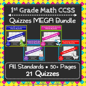 1st Grade Math Quizzes: 1st Grade Common Core Math Quiz ME