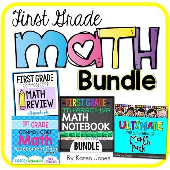 1st Grade Math Resource BUNDLE by Karen Jones | Teachers Pay