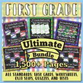 1st Grade Math Curriculum Bundle