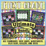 ⭐The ULTIMATE 1st Grade Math Curriculum Bundle⭐