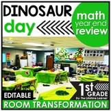 1st Grade Math Review   Dinosaur Room Transformation