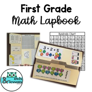 1st Grade Math Review Lapbook