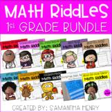 1st Grade Math Riddles BUNDLE