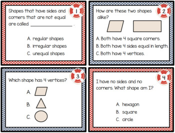 1st Grade Math: Sorting and Classifying 2D Figures: TEKS 1.6A; CCSS: 1.G.A.1