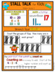 1st Grade Math Spiral Review Posters- October Stall Talk