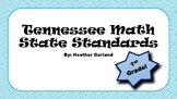 1st Grade Math Standards (TN)