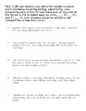 1st Grade Math Story Problems