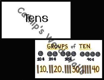1st Grade Math TEKS Flash Cards