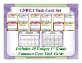 1st Grade Math Task Cards 1 NBT.1 Extend The Counting Sequence 1.NBT.1