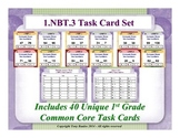 1st Grade Math Task Cards 1 NBT.3 Compare Two Two-Digit Numbers 1.NBT.3