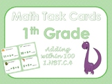 1st Grade Math Task Cards - Addition