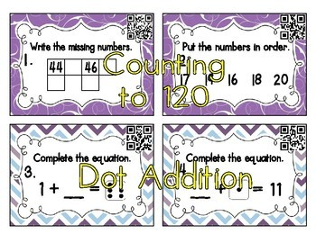 1st Grade Math Task Cards Bundle