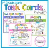 Math Activities Task Cards BUNDLE - 1st Grade Problem Solv